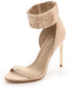BCBGMAXAZRIA Everling Ankle Cuff Sandals on shopstyle.com
