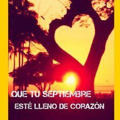 Comienza el nuevo curso... Q ilusión!! Cuántos aprendizajes traerá? Que todos ellos conduzcan al más importante: amar. Feliz Septiembre! !