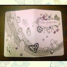 Nur Fazura Custom Moleskine cover by http://doodlingsandthings.blogspot.com/