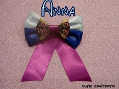 Hey, I found this really awesome Etsy listing at https://www.etsy.com/listing/168388128/anna-hair-bow-disney-frozen-inspired