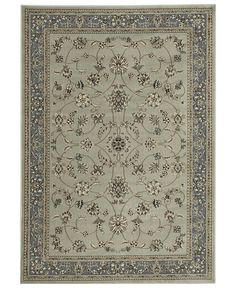 KM Home Florence Collection 4 pc set Isfahan Soft Mint Area Rugs - Rugs - Rugs - Macy's
