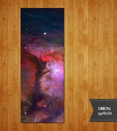 Orion Nebula yoga mat