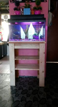 diy-pallet-table-stand.jpg (720×1309)