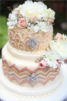 Glamorous gold wedding