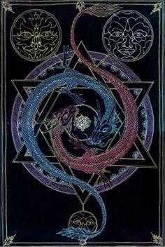 Soul Alchemy - Fire and Water by Lakandiwa.deviantart.com on @deviantART