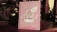 Ecstasy Crafts Basket and Rubber Stamp Tapestry