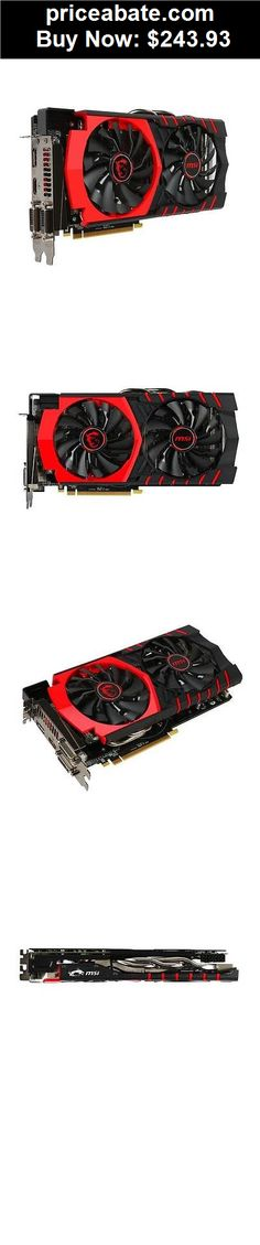 Computer-Parts: MSI AMD Radeon R9 380 Gaming 4GB GDDR5 2DVI/HDMI pci-e Video Card Graphics  - BUY IT NOW ONLY $243.93