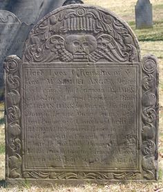 Early tombstone