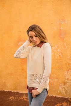 Pull JEAN  #terreetmer #été #cassis Armor Lux, Jeans, Pullover, Sweaters, Collection, Fashion, Moda, Fashion Styles, Sweater