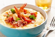 Recette de crevettes et gruau de maïs facile à réaliser