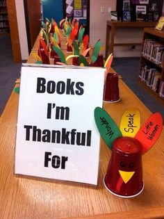 Book club activity: Books I'm thankful for