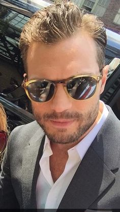 Jamie Dornan leaving The Bowery Hotel NY August 2016 Jamie Dornan, Christian Grey, Dakota Johnson Movies, Johnson Family, Mr Grey, Fifty Shades Trilogy, Irish Men, Fifty Shades Of Grey, Most Beautiful Man