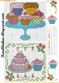 graficos de cupcakes