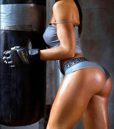 Have you tries a boxing workout?? Think you're in shape try this!!!