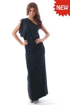 NEW Elegant Evening Womens Black Summer Maxi Dress BNWT Size 6 8 10 12 14 16 18 | eBay