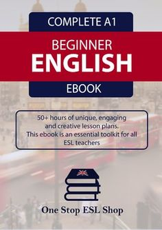 This is the One Stop ESL Shop A1 Course Book lesson plans for Beginner ESL learners. There are a total of 43 units and a starter pack within this course book, providing over 50-60 hours of unique, creative and engaging lesson plans. This course includes 9 audio files for listening exercises.