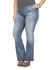 TORRID.COM - Torrid Slim Boot Jean - Light Wash (Tall)