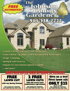 Lawn Care Flyers | lawn care startup free guide