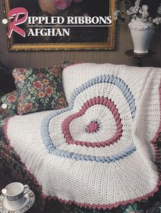 Rippled Ribbons Afghan Annie's Crochet Quilt & Afghan