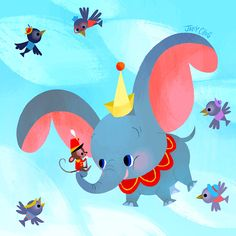 ✶ Dumbo by Joey Chou ★