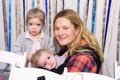 Pin for Later: 7 Sweet Photos of Drew Barrymore and Her Adorable Daughters