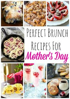 Perfect Mother's Day Brunch Recipes to Make for Mom!