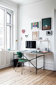Apartment 34 | Designer Files: {I Spy Green!}