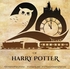 20 years of Harry Potter Harry Potter World, Harry Potter Love, Harry Potter Universal, Harry Potter Fandom, Rowling Harry Potter, Geeks, Ron Et Hermione, Fans D'harry Potter, Potter Facts