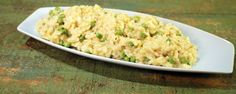 Baked Leek and Pea Risotto Recipe by Clinton Kelly | The Chew - ABC.com