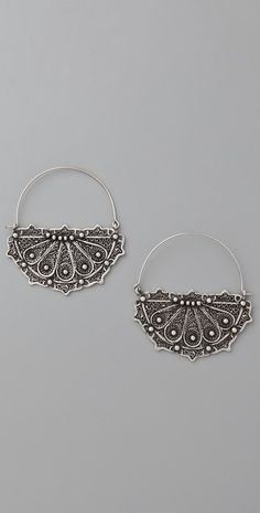 Carol Marie Morocco Hoop Earrings