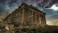A great interactive, panoramic guide to the Acropolis hill and the Parthenon! Take the virtual tour and enjoy Athens from above Parthenon, Acropolis, Third Rome, Ancient Greece, Best Memories, Virtual Tour, Vacation Destinations, Ancient History, Athens