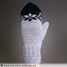 Knitted Mittens Pattern, Knit Mittens, Knitted Gloves, Knitting Patterns, Fair Isle Knitting, Free Knitting, Baby Mittens, Knitting Accessories, Knit Crochet