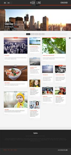 The Highline is a beautiful responsive Joomla template ideal for magazine, blogs and portals alike.