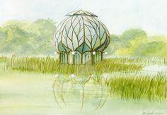 oct. 1977 Première graine 1977  La démarche de l'architecte consiste ici à s'affranchir de toutes contraintes techniques ou matérielles de construction. Il se laisse porter par les valeurs du rêve et se donne l'occasion de les explorer en toute...