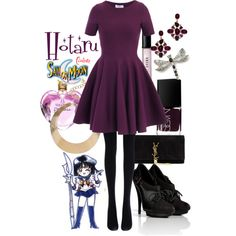 """Hotaru"" by sailormooncloset on Polyvore"