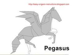 Origami Instructions - Pegasus