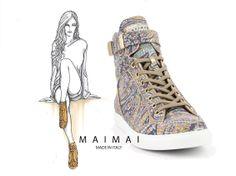 MAIMAI is een nieuw modisch Italiaans sneaker merk. Stijl en pasvorm gaan hier perfect samen. #sneakers #Maimai
