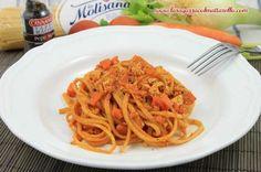 Receta de Pasta Vegetariana Con Sofrito Italiano De Tomate Y Tofu