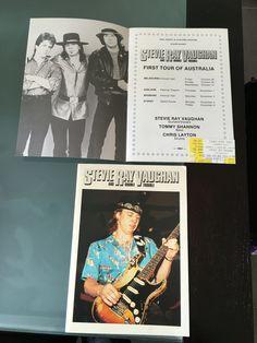 2 x 1984 Tour of Australia Programs and 1 ticket stub from Sydney
