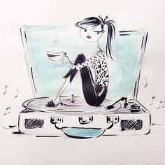 Anne Keenan Higgins - Sunday morning tunes. coffee