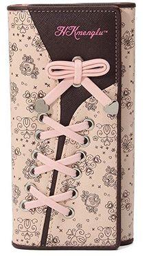 Groe Kapazitt & gut organisiert Bestes Geschenk 11 Card Slots Elegant, Pink, Accessories, Flowers, Leather, Classy, Chic