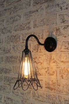 from Fat Shack Vintage · Workshop Gooseneck Wall Light in antique bronze & Cross Stitch Pendant Light. Industrial eclectic metal pendant ... azcodes.com