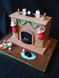 Beautiful Christmas Cakes | Wedding & Birthday Cakes Tamworth & Coventry Seasonal ...