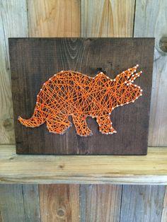Cadena de dinosaurio cadena Art arte dinosaurio por UrbanHoot