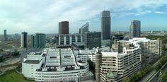 Skyline of the Hague, county Zuid-Holland