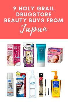The Ultimate Guide to the Best Japanese Drugstore Beauty Products 2019 Beste japanische Drogerie Beauty-Produkte