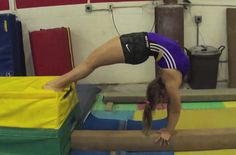 4 Progressions for Bridges and Walkovers on beam