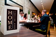 Home Tasting Room : 110 - 8th Ave SW Calgary. Great fresh simple food! :)