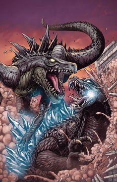 Zilla vs Godzilla