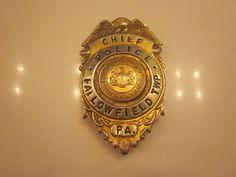 1920's chief badge